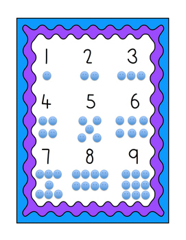 Number Chart #1-9