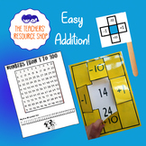 1 More, 1 Less, 10 More, 10 Less Number Chart template + 100 Number Grid