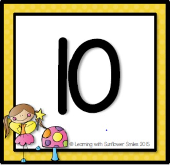 Number Chart (100)  Fairies