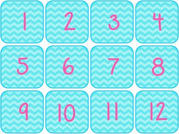 Number Chart Bundle