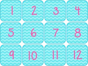 Number Chart Bundle