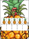 Pineapple 1-20 ten frame Number Chart
