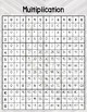 Number Chart Posters ~ Farmhouse Gray