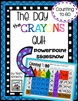 Number Chart - The Day the Crayons Quit