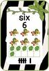 Number Chart: Zebra Print, Jungle Themed
