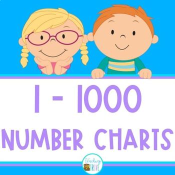 Number Chart to 1000