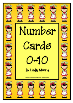 Number Charts 0-10 - Chef Theme