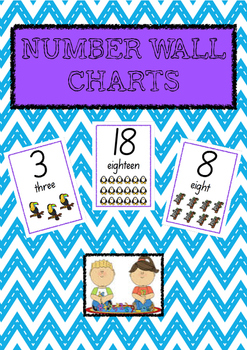 Number Charts 1 - 20