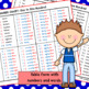 Number Charts 1 to 100