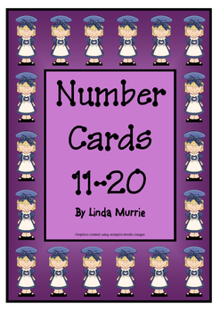 Number Charts 11-20 - Chef Theme