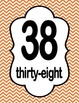 Number Charts 31-40