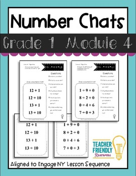 Number Chat-First Grade-Module 4-Common Core and Engage New York Aligned