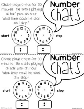 Number Chats Second Grade