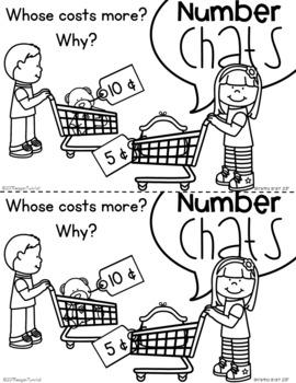 Number Chats Kindergarten Coins