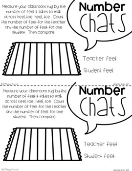 Number Chats Measurement First Grade