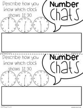 Number Chats Time