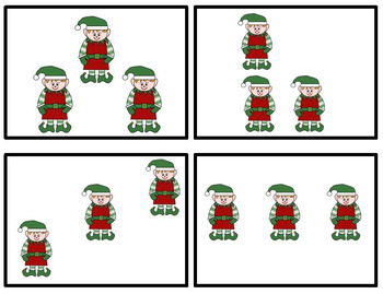 Number Chats for Christmas -Talking about Numbers from 3 to 10