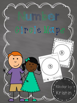 Number Circle Maps - Kinder by Kristin