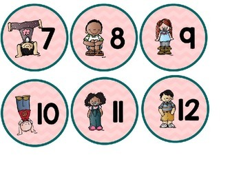 Number Circles: Kidlette Edition