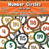 Number Circles -20 to 120  APT-001