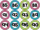 Number Circles - Polka Dot