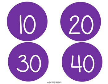 Number Circles: Skip Counting by 10's to 100