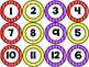 Number Circles - Stripes