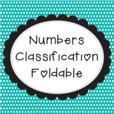 Number Classification Foldable