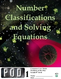 Common Core Math: Number Classification and Solving Equati