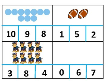 0-10 Number Matching
