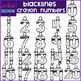 Number Clip Art- Black Crayon Numbers {jen hart Clip Art}