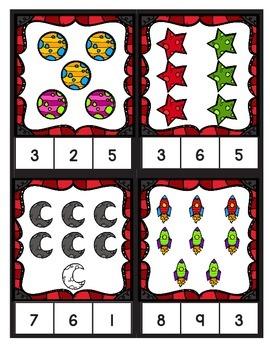 Number Clip Cards