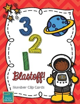 Number Clip Cards