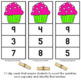 Number Clip Cards  •  Counting Sweets