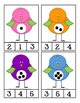 Clip Cards ● Number 1-20 ● Number Sense ● Counting ● Math Centers
