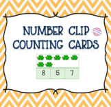 Number Clip Counting Cards