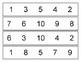 Number Clip Strips 1-10