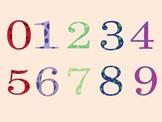 Polka-Dot Number ClipArt