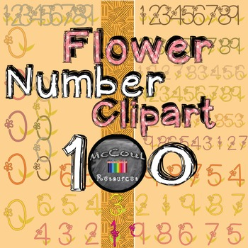 Number Clipart Flowers