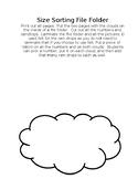 Number Clouds File Folder
