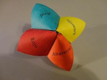 Number, Color, & Noun Spanish Cootie Catchers (Números y Colores)