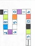 Number/ Color board game Prt.I