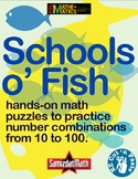 Number Combination Puzzles: Hands On, Minds On, Schools o' Fish