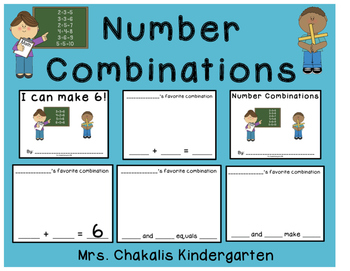 Number Combinations Book