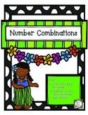 Number Combinations - Numbers to Ten