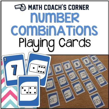 Number Combinations Playing Cards Freebie