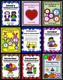 Kindergarten Math BUNDLE Activities and Worksheets for the Common Core 710 Pages
