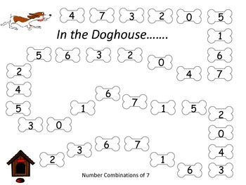 Number Combinations of 7 Game