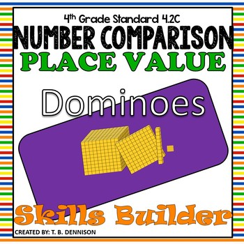 Number Comparison Dominoes