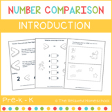 Number Comparisons - Greater Than or Less Than